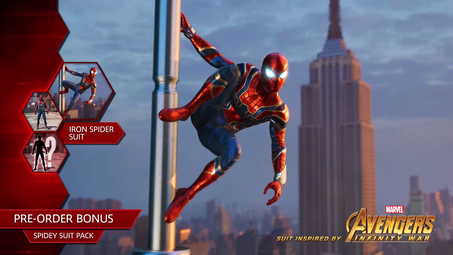 Iron Spider Comes to Marvel's Spider-Man on PS4