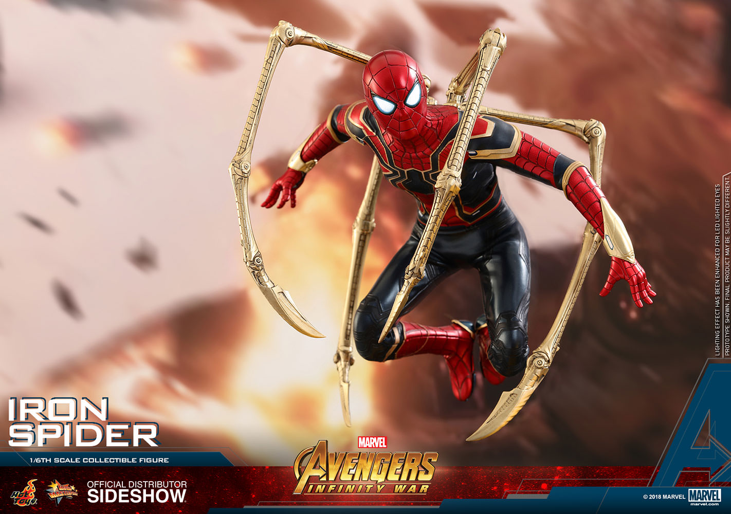 Hot Toys Spider-Man Sixth Scale Figure available for Pre-Order
