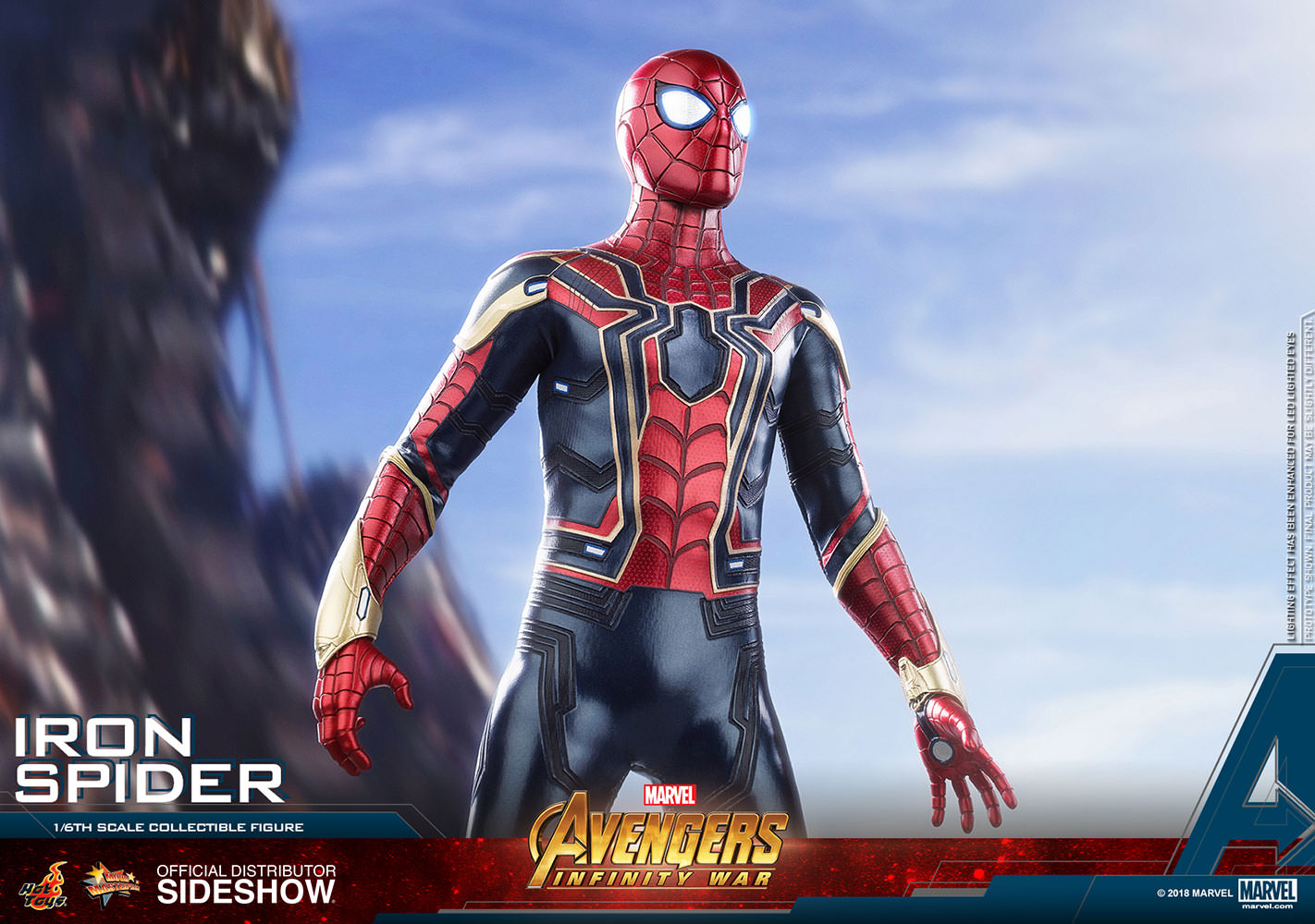 Marvel Avengers Infinity War Iron Spider Sixth Scale Hot