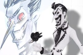 Watch DC Artists Alley's Nooligan draw The Joker at SDCC 2017