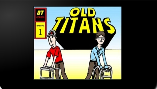Old Titans #64: At the Movies!