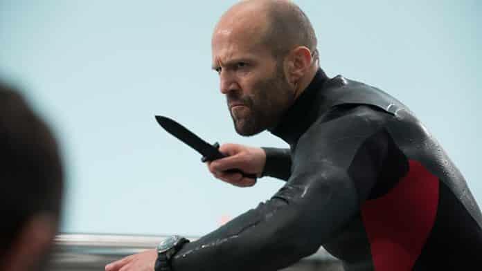 Jason Statham vs Prehistoric Shark in First Trailer for 'The Meg'
