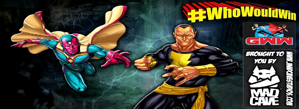 #WhoWouldWin: Black Adam vs. Vision