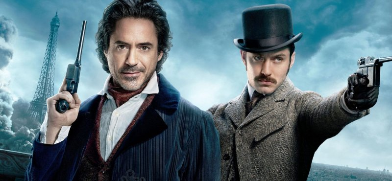 Sherlock Holmes 3 In the Works with Robert Downey Jr and Jude Law Returning
