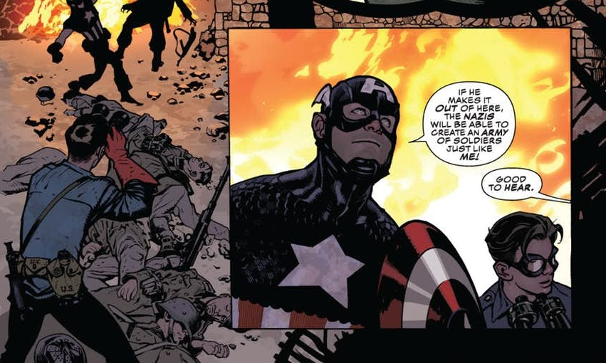 CAPTAIN AMERICA #701 REVIEW