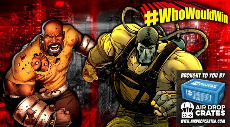 #WhoWouldWin Bane vs Luke Cage