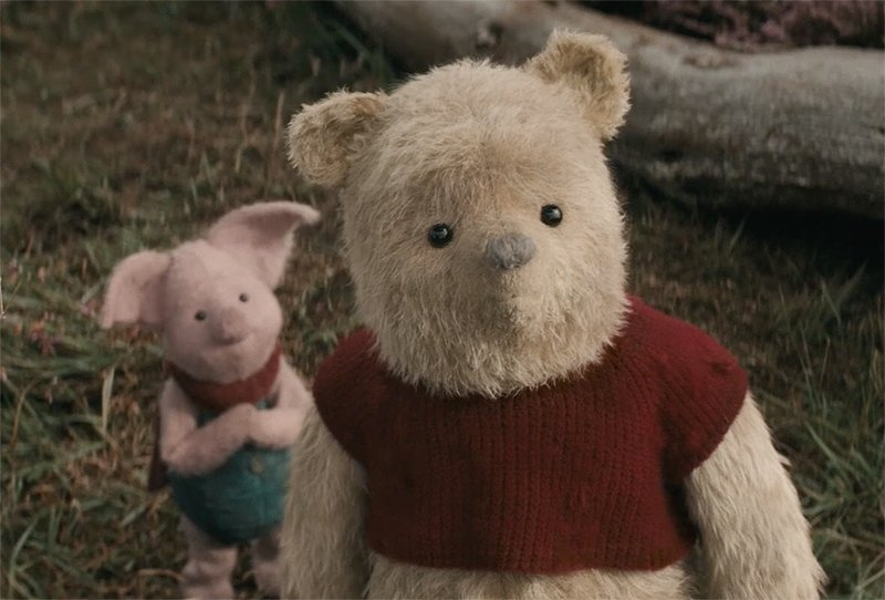 Here is the New Trailer for DIsney's Christopher Robin