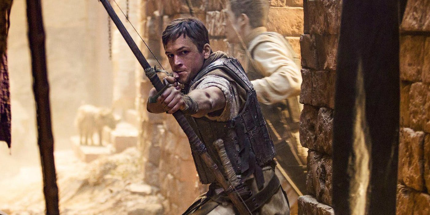 Taron Egerton is 'Robin Hood' in New Trailer