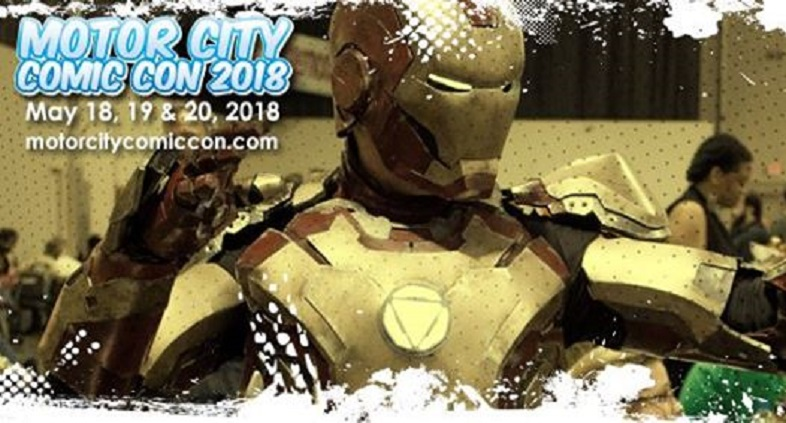 Motor City Comic Con Is Just Days Away!!
