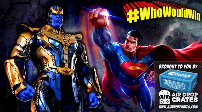 #WhoWouldWin: Superman vs. Thanos