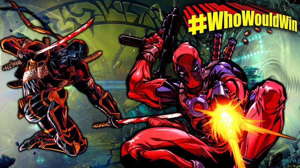 #WhoWouldWin: Deadpool vs. Deathstroke