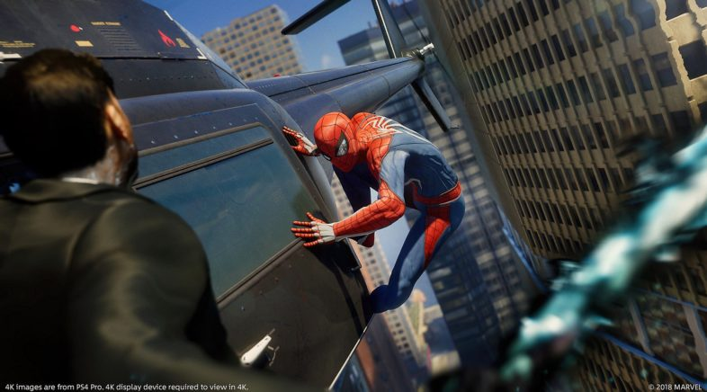 Spider-Man PS4 Gameplay revealed at E3