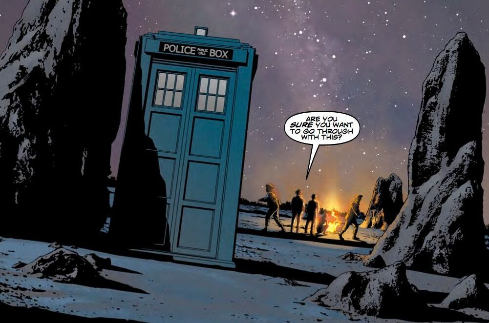 Doctor Who The Seventh Doctor #1 Review