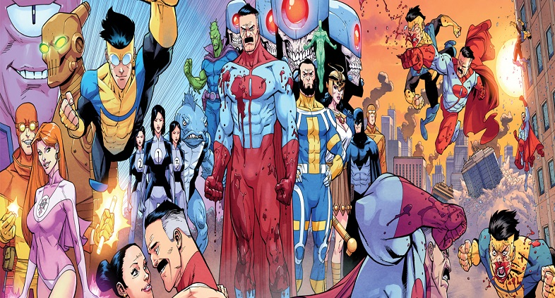Invincible Animated Series coming to Amazon