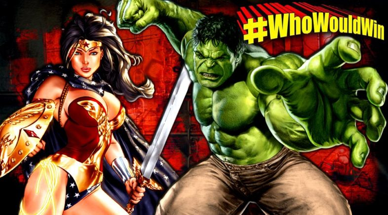 #WhoWouldWin: Hulk vs. Wonder Woman