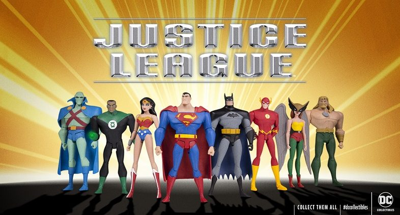 DC Collectibles Unveils New 'Justice League' Animated Series Action Figures