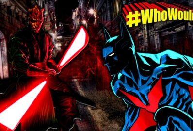 #WhoWouldWin: Batman Beyond vs. Darth Maul