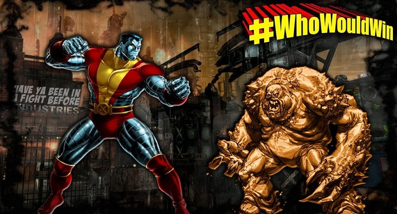 #WhoWouldWin: Clayface vs. Colossus
