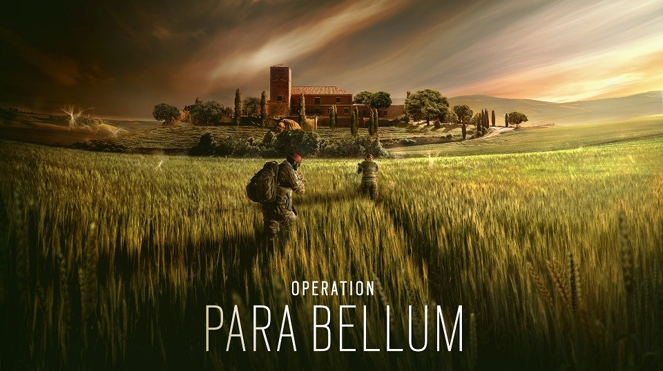 Rainbow 6 Siege (PC) DLC Para Bellum launch