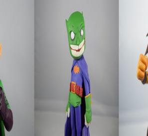 DC Artist Alley Chris Uminga Superman/Batman/Wonder Woman Villain Variants Review