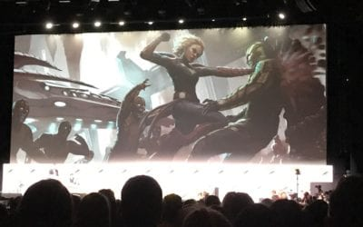 SDCC 17: 'Captain Marvel' Set In The 90's; Skrulls Announced with Samuel L Jackson as Nick Fury