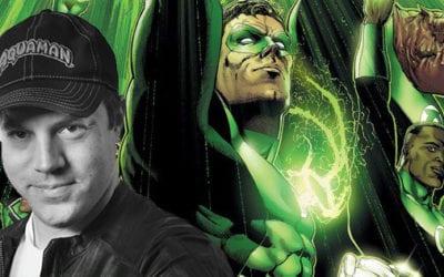Geoff Johns Will Help Write 'Green Lantern Corps'