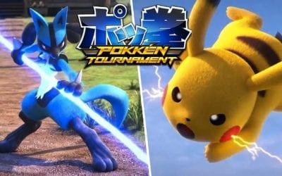 Pokken Tournament: Street Fighter with Huge Pokeballs