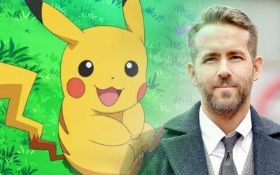 Ryan Reynolds Will Voice Pikachu in 'Detective Pikachu'