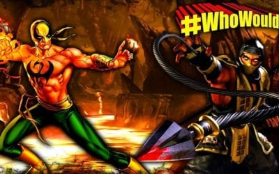 #WhoWouldWin: Iron Fist vs. Scorpion