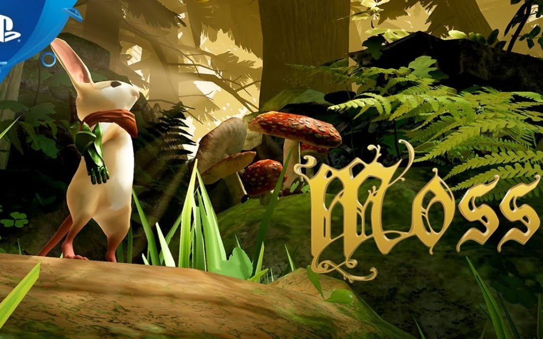 Moss Review on PS4 PSVR
