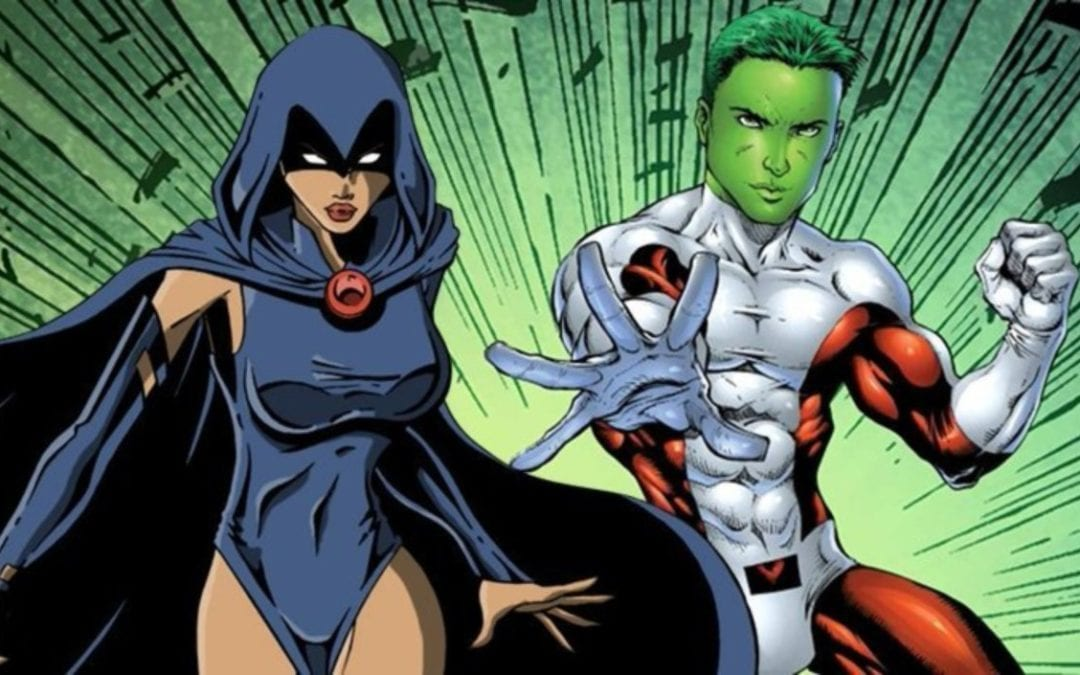 FIRST LOOK: Raven and Beast Boy On The Set Of 'Titans'