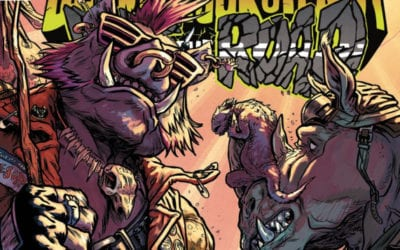 TMNT Bebop & Rocksteady Hit the Road #3 REVIEW