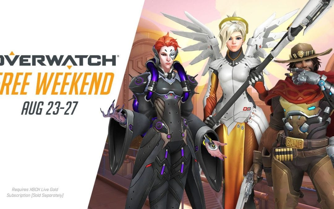 Overwatch – August Free Weekend is almost here!