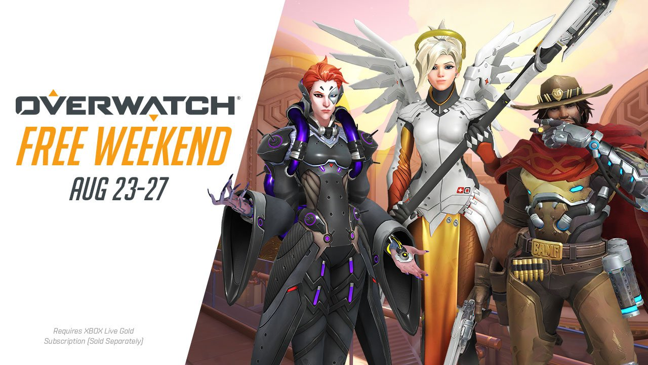 how to download overwatch for free weekend