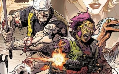 TMNT: Bebop and Rocksteady Hit the Road #2 REVIEW