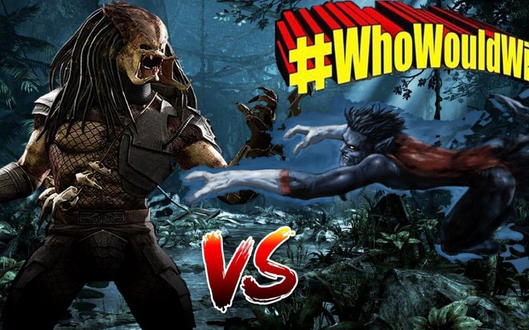 #WhoWouldWin: Predator vs. Nightcrawler