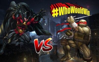 #WhoWouldWin: Raphael vs. Red Robin
