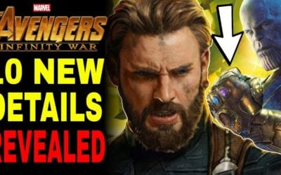 10 NEW Details Revealed In Avengers Infinity War