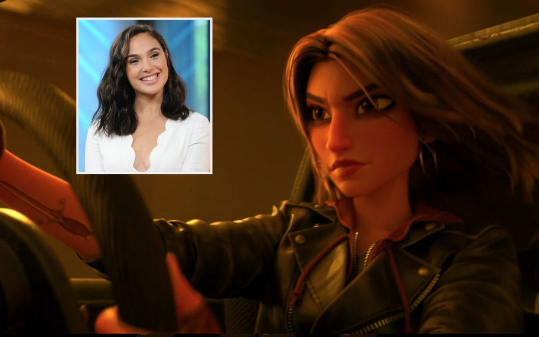 "Gal Godot to Voice New Character, Shank, in ""Ralph Breaks The Internet"""