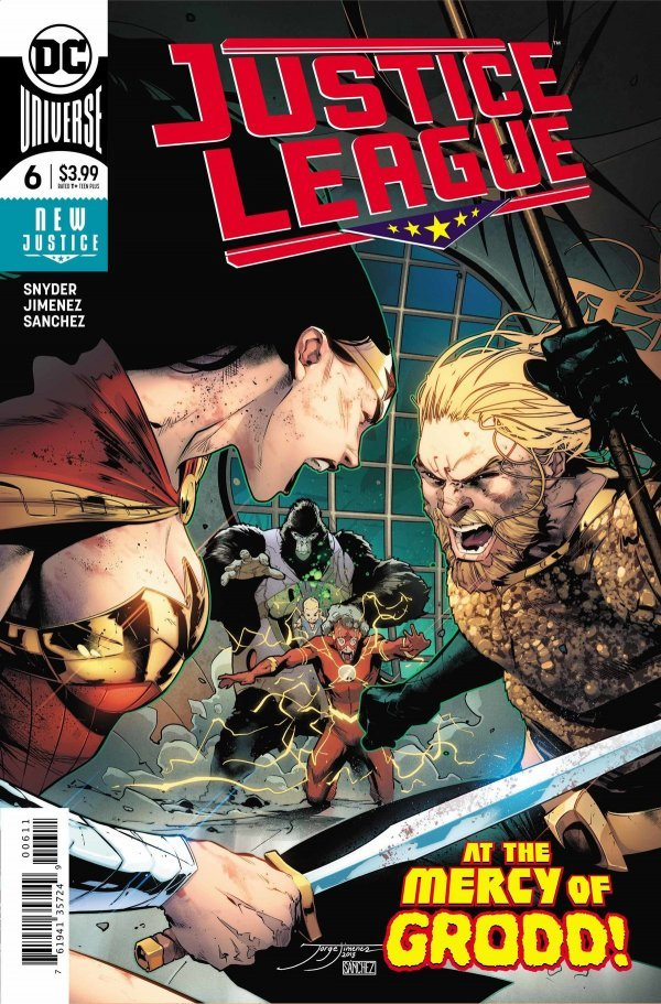 Justice League 6 Review Gww