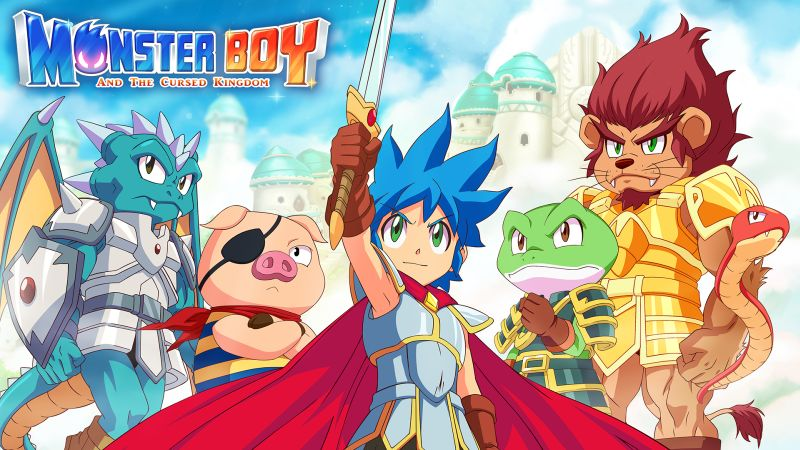 New Monster Boy and the Cursed Kingdom trailer and Release Date