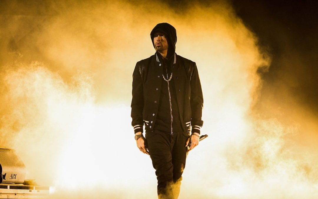 "Eminem Drops Surprise Album ""Kamikaze"""