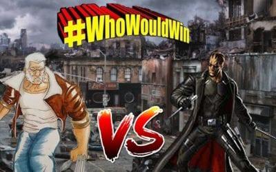 #WhoWouldWin: Blade vs. Old Man Logan