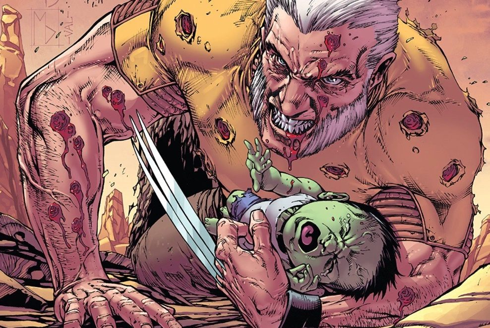 Old Man Logan Review Annual #1