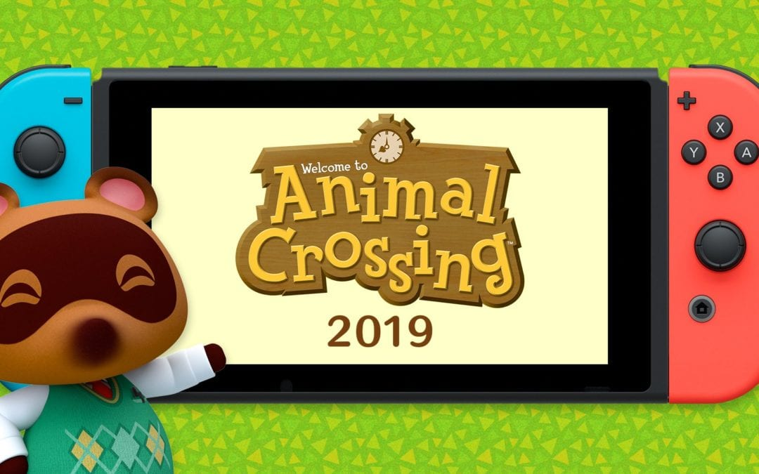 Tom Nook has a special announcement… Animal Crossing is coming to the Nintendo Switch!