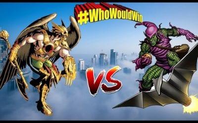 #WhoWouldWin: Hawkman vs. Green Goblin