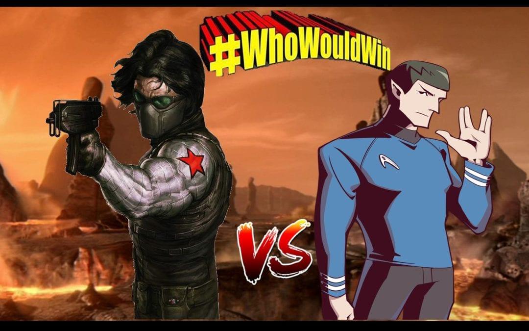 #WhoWouldWin: Spock vs. Winter Soldier