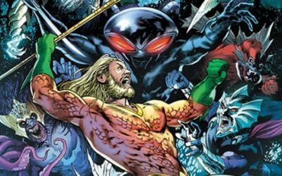 Justice League/ Aquaman Drowned Earth #1 Review