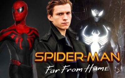 Spidey's New Suit In 'Spider-Man: Far From Home' Based On 'Homecoming' Concept and Nod To Black Suit?