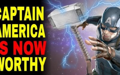 Avengers 4 Prediction: Captain America Can NOW Lift Thor's Hammer